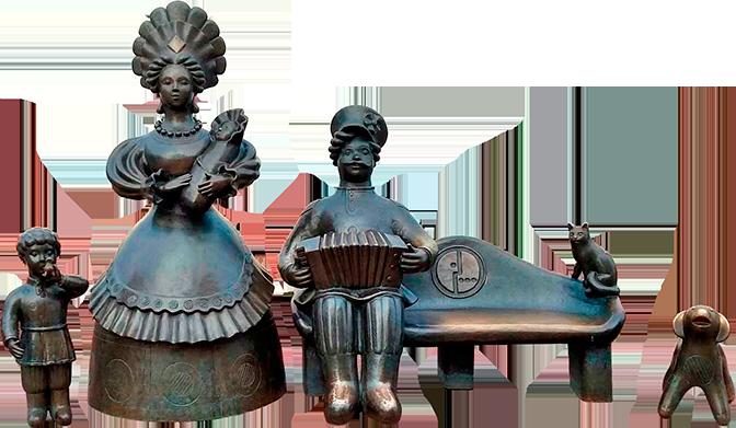 Бронзовые скульптуры с доставкой в любой город