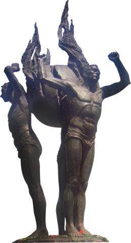 Круглая скульптура